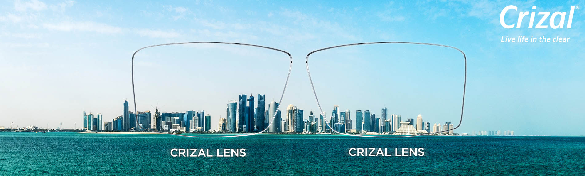 With Crizal Lenses